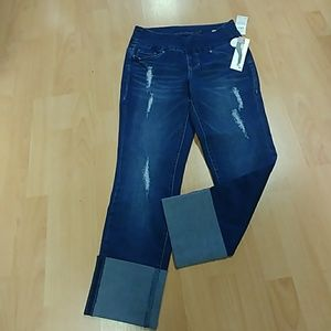 Jag High Rise Straight Ankle Jeans